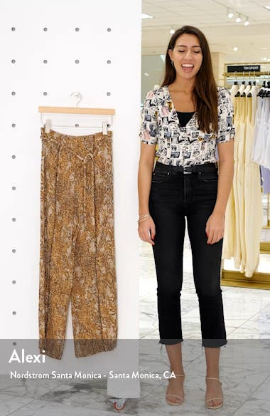 Luma Snake Print Pants, sales video thumbnail