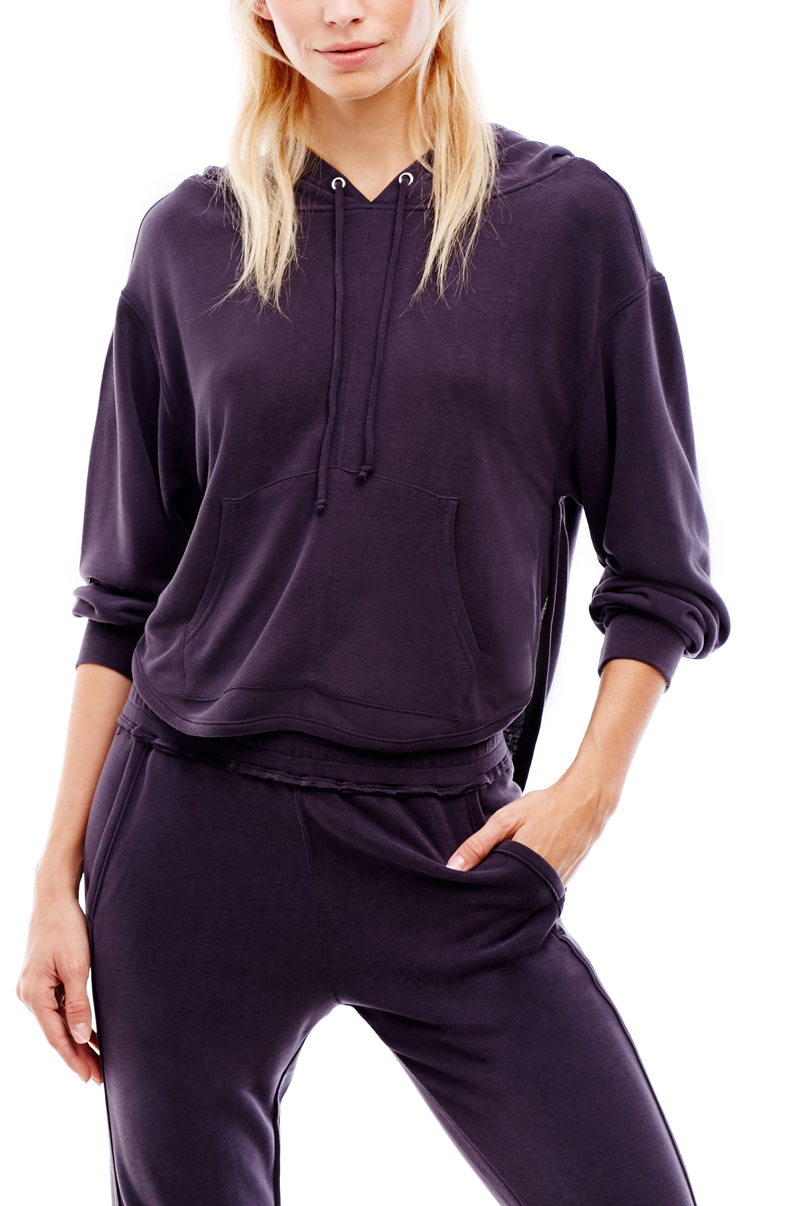 ,                             Back Into It Cutout Hoodie,                             Alternate thumbnail 9, color,                             400
