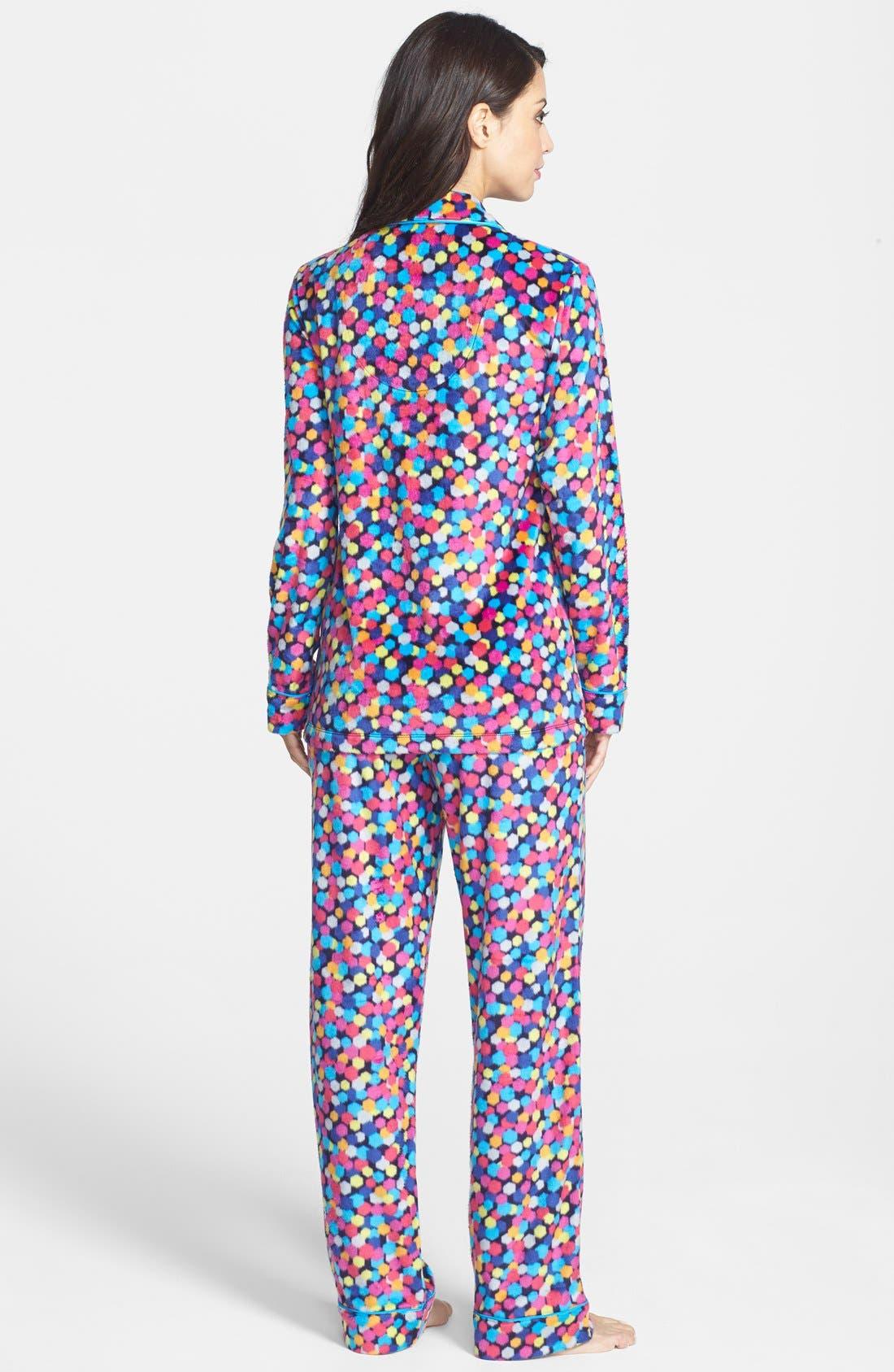 ,                             Long Sleeve Microfleece Pajamas,                             Alternate thumbnail 30, color,                             402