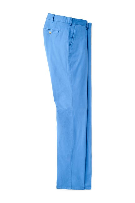 Image of Peter Millar Flat Front Trousers