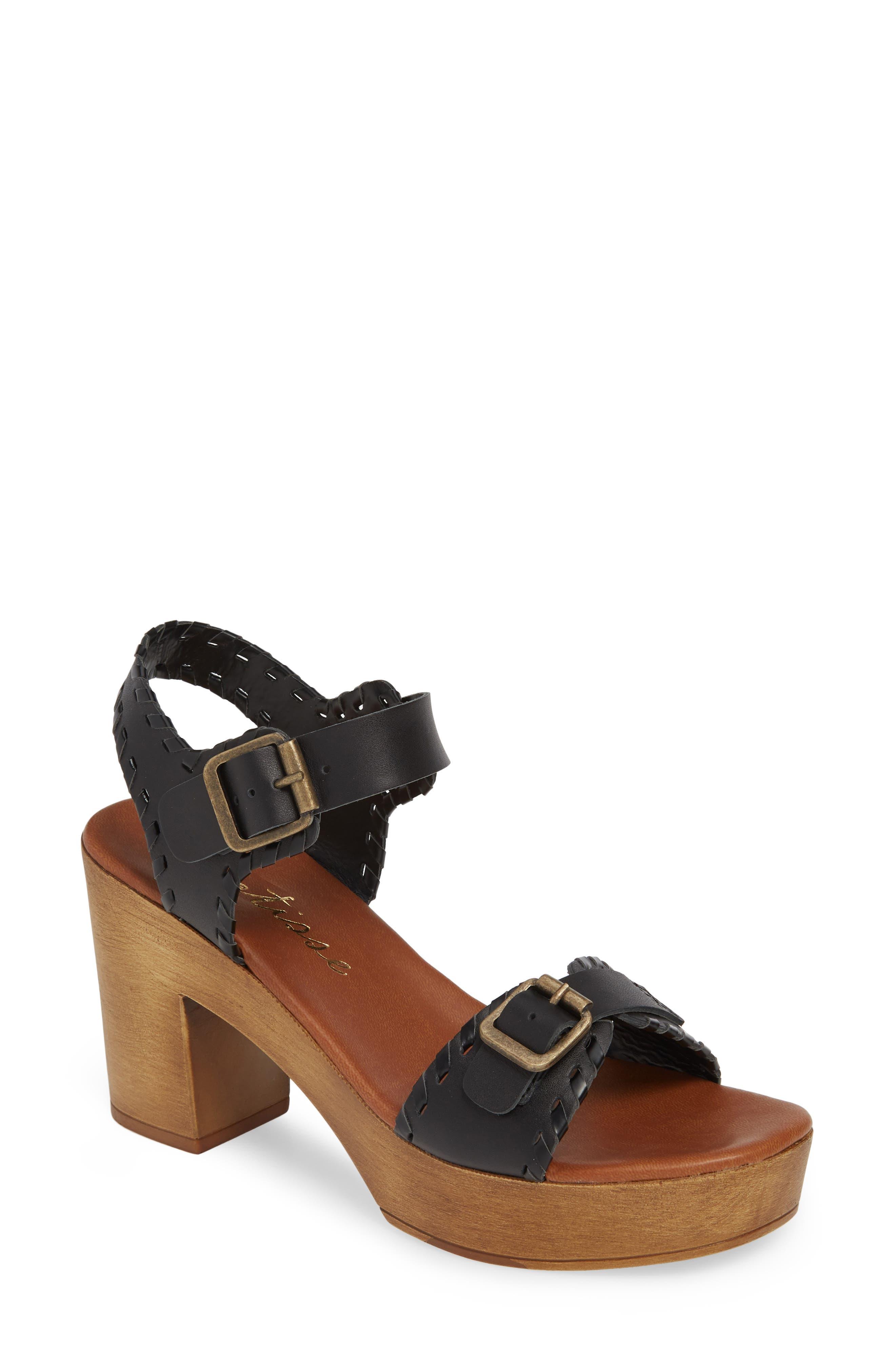 Matisse Twiggy Platform Sandal, Black
