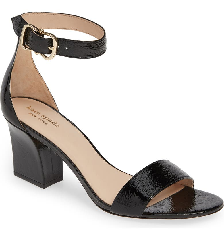 KATE SPADE NEW YORK susane sandal, Main, color, BLACK