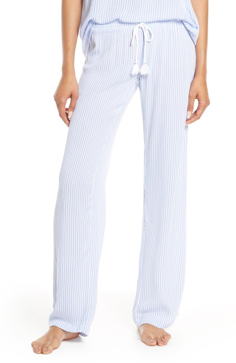 PJ SALVAGE Sundaze Jogger Pajama Pants, Main, color, 100