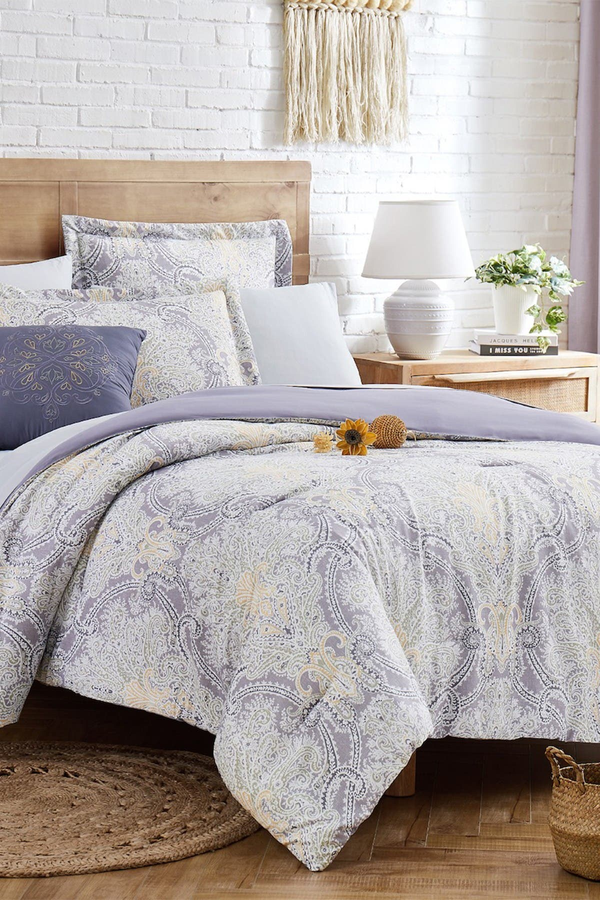 Image of Modern Threads Complete 8-Piece Bedding Set - Annabelle - Full