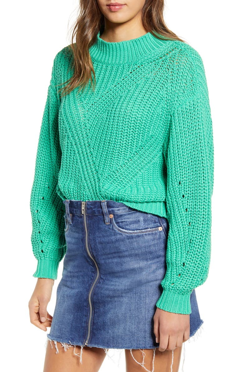 Traveling Stitch Sweater by Bp.