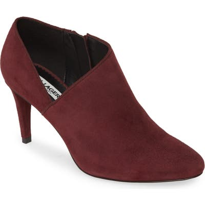 Karl Lagerfeld Paris Mishka Ankle Boot, Burgundy