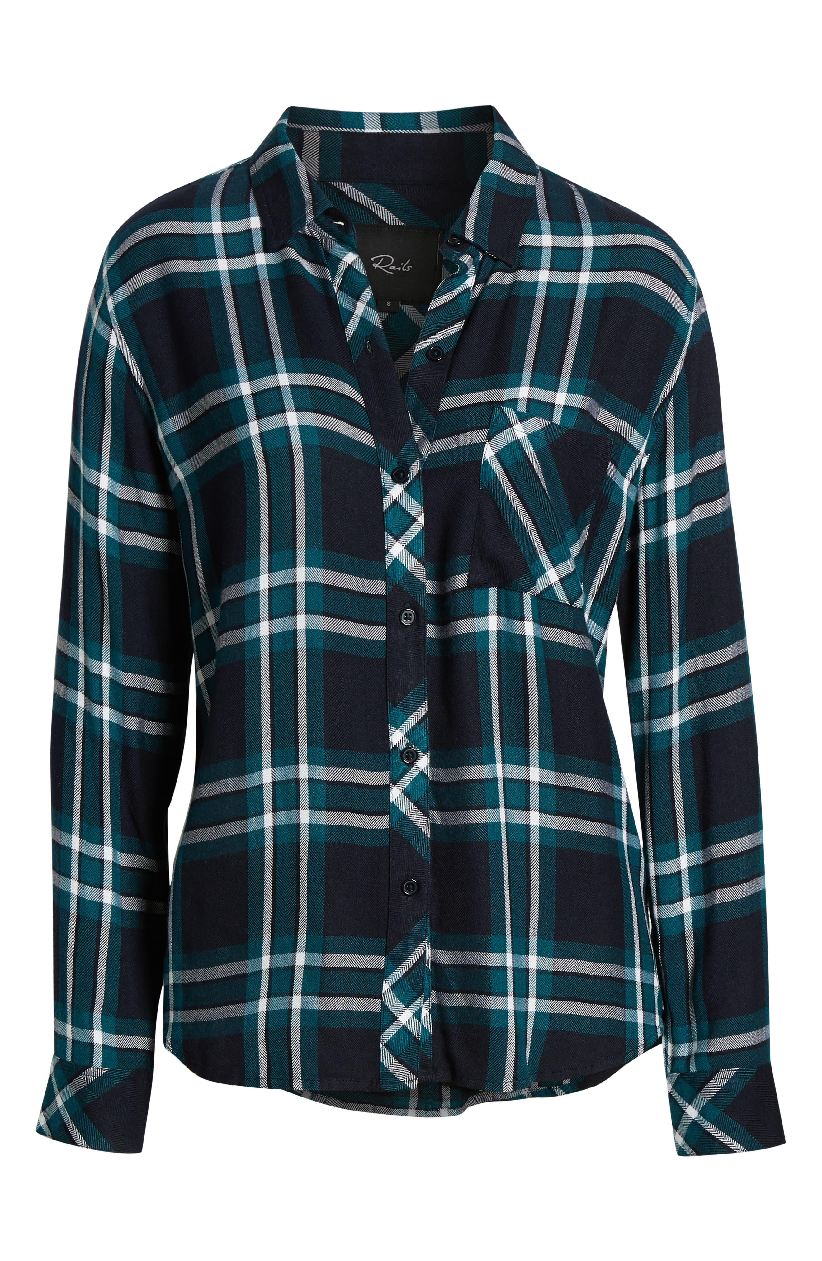 ,                             Hunter Plaid Shirt,                             Alternate thumbnail 43, color,                             423