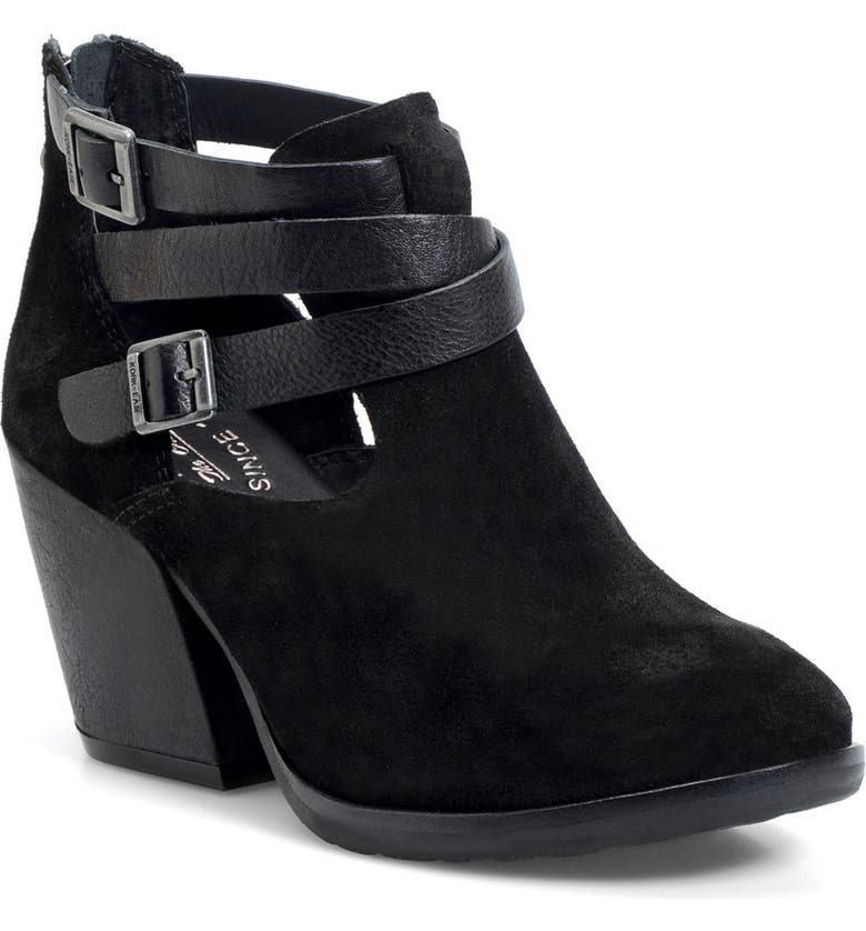 KORK-EASE<SUP>®</SUP> 'Stina' Leather Bootie, Main, color, 001