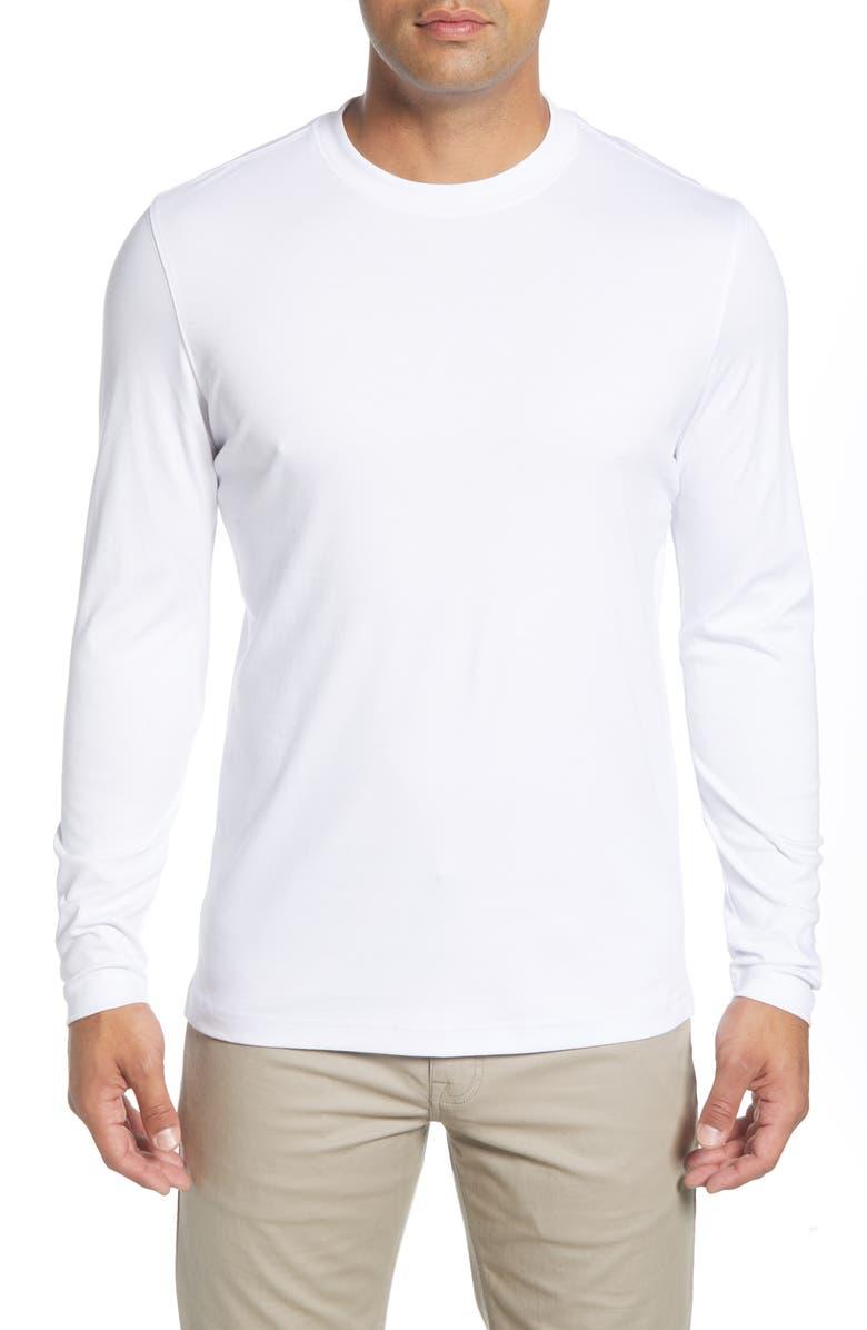 ROBERT BARAKETT Georgia T-Shirt, Main, color, WHITE