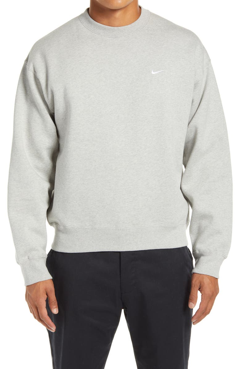 NIKE NRG Men's Crewneck Fleece Sweatshirt, Main, color, 050