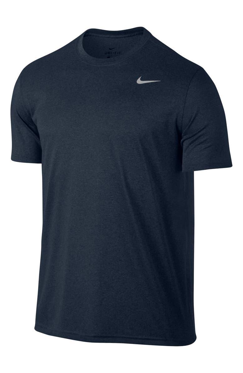NIKE Legend 2.0 Dri-FIT Training T-Shirt, Main, color, OBSIDIANHEATHER/ MATTE SILVER