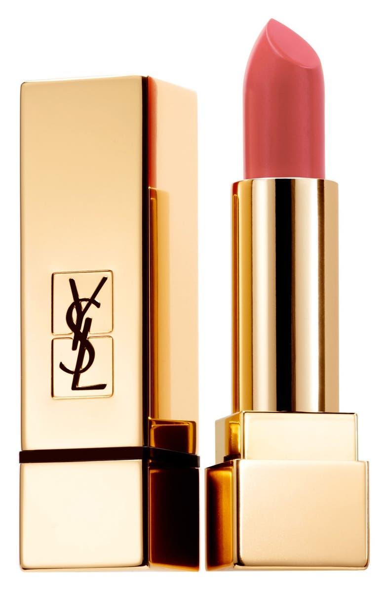 YVES SAINT LAURENT Rouge Pur Couture Matte Lipstick, Main, color, 602