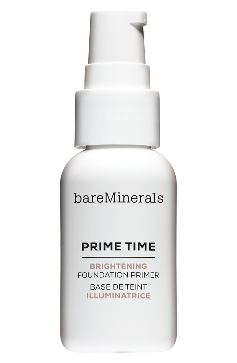 BAREMINERALS<SUP>®</SUP> Prime Time Brightening Foundation Primer, Main, color, NO COLOR