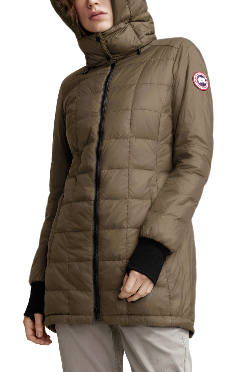 CANADA GOOSE Ellison Packable Down Jacket, Main, color, MILITARY GREEN
