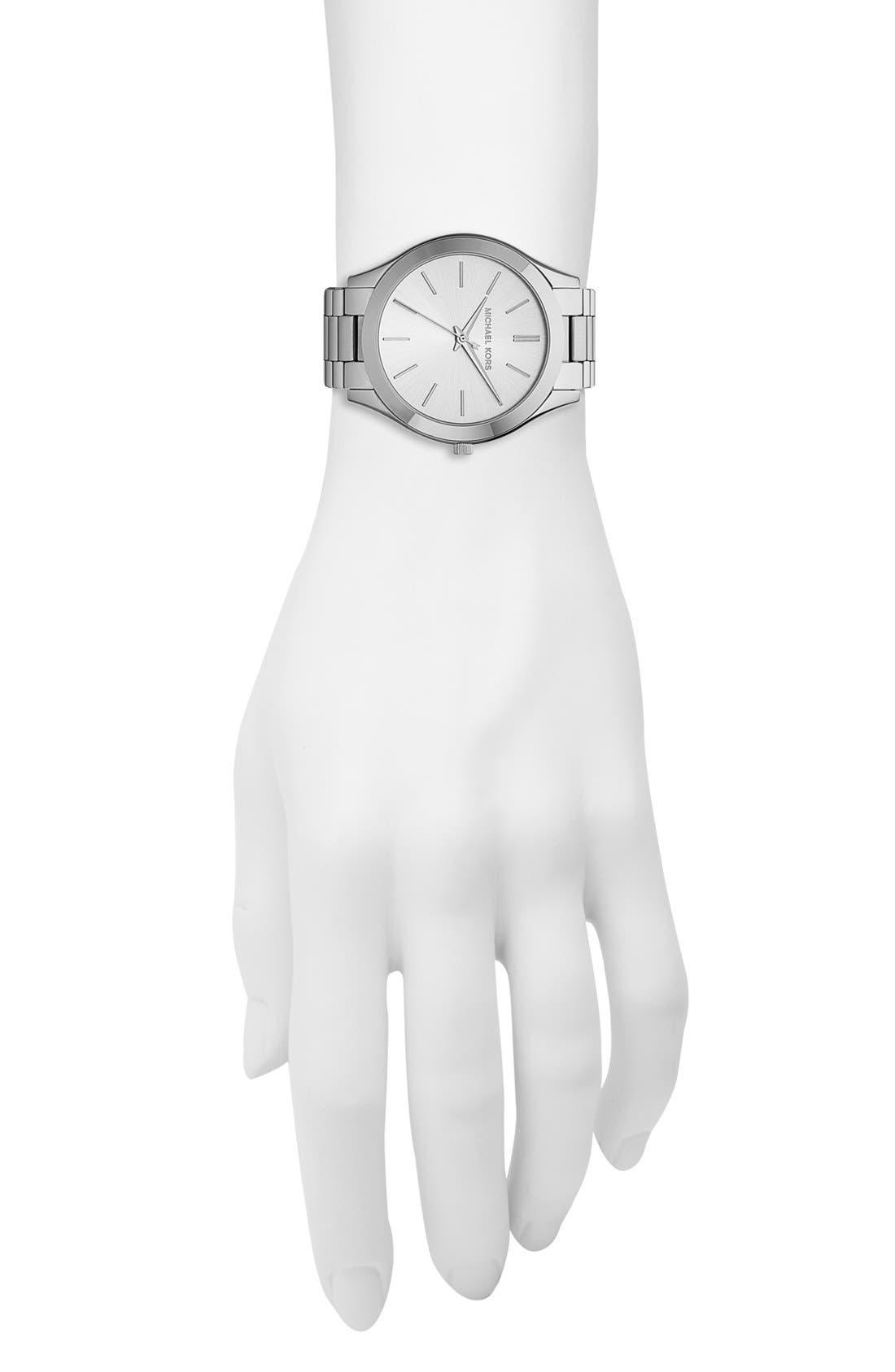 ,                             'Slim Runway' Bracelet Watch, 42mm,                             Alternate thumbnail 19, color,                             040
