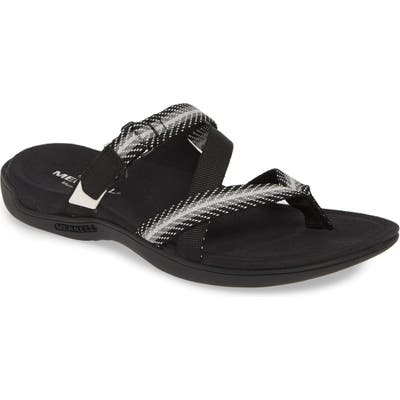 Merrell District Mendi Slide Sandal, Black