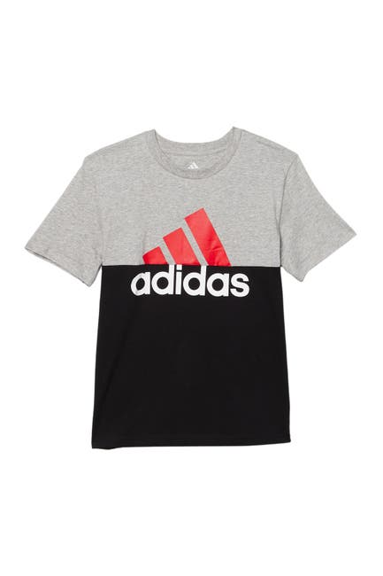 Image of adidas Color Block Cotton Tee