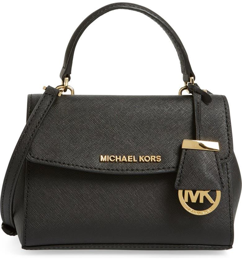 Extra Small Ava Leather Crossbody Bag