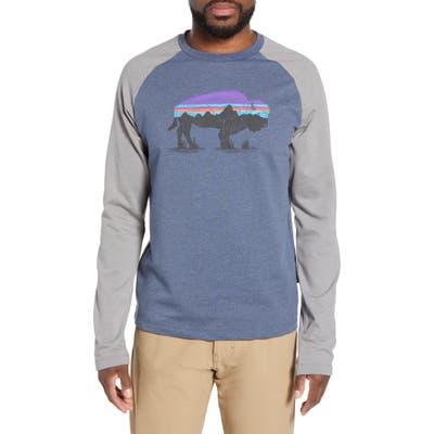 Patagonia Fitz Roy Bison Logo Sweatshirt