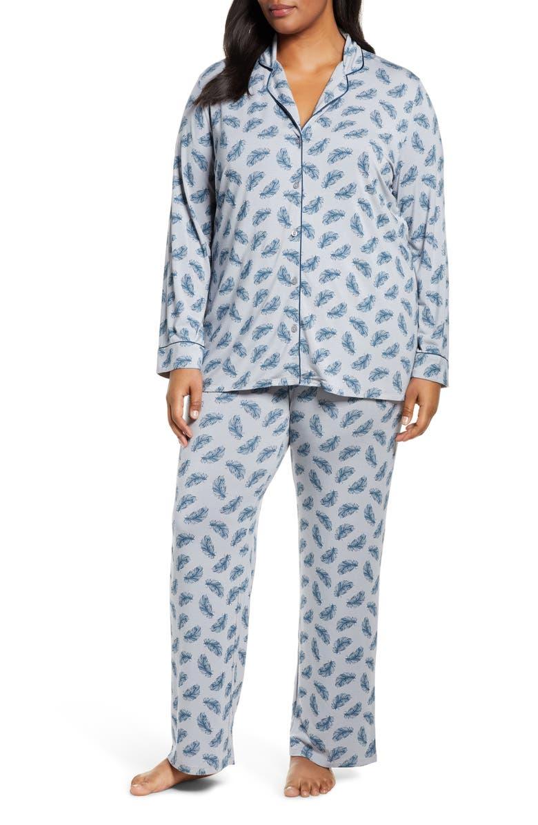 NORDSTROM LINGERIE Moonlight Pajamas, Main, color, 025