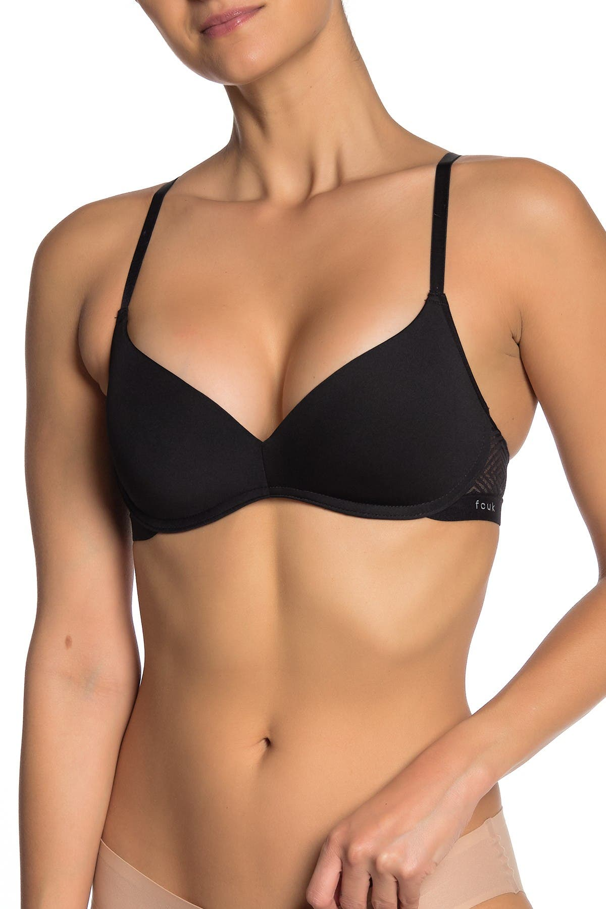Image of French Connection Wireless Geo Lace T-Shirt Bra