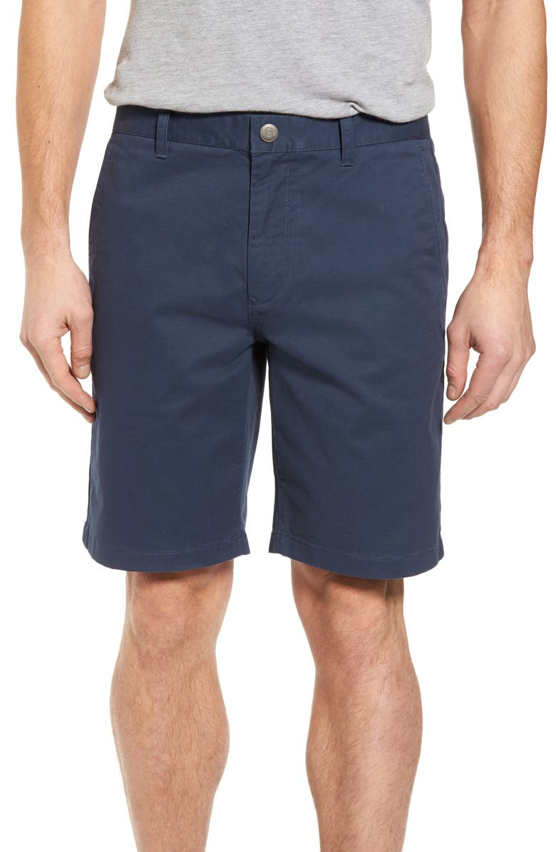 BONOBOS Stretch Washed Chino 9-Inch Shorts, Main, color, STEELY