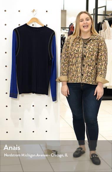 MVP Slim Fit Colorblock Wool Sweater, sales video thumbnail