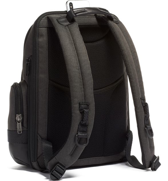 218b8b65d Tumi Alpha Bravo Nathan Expandable Backpack - Grey In Graphite ...