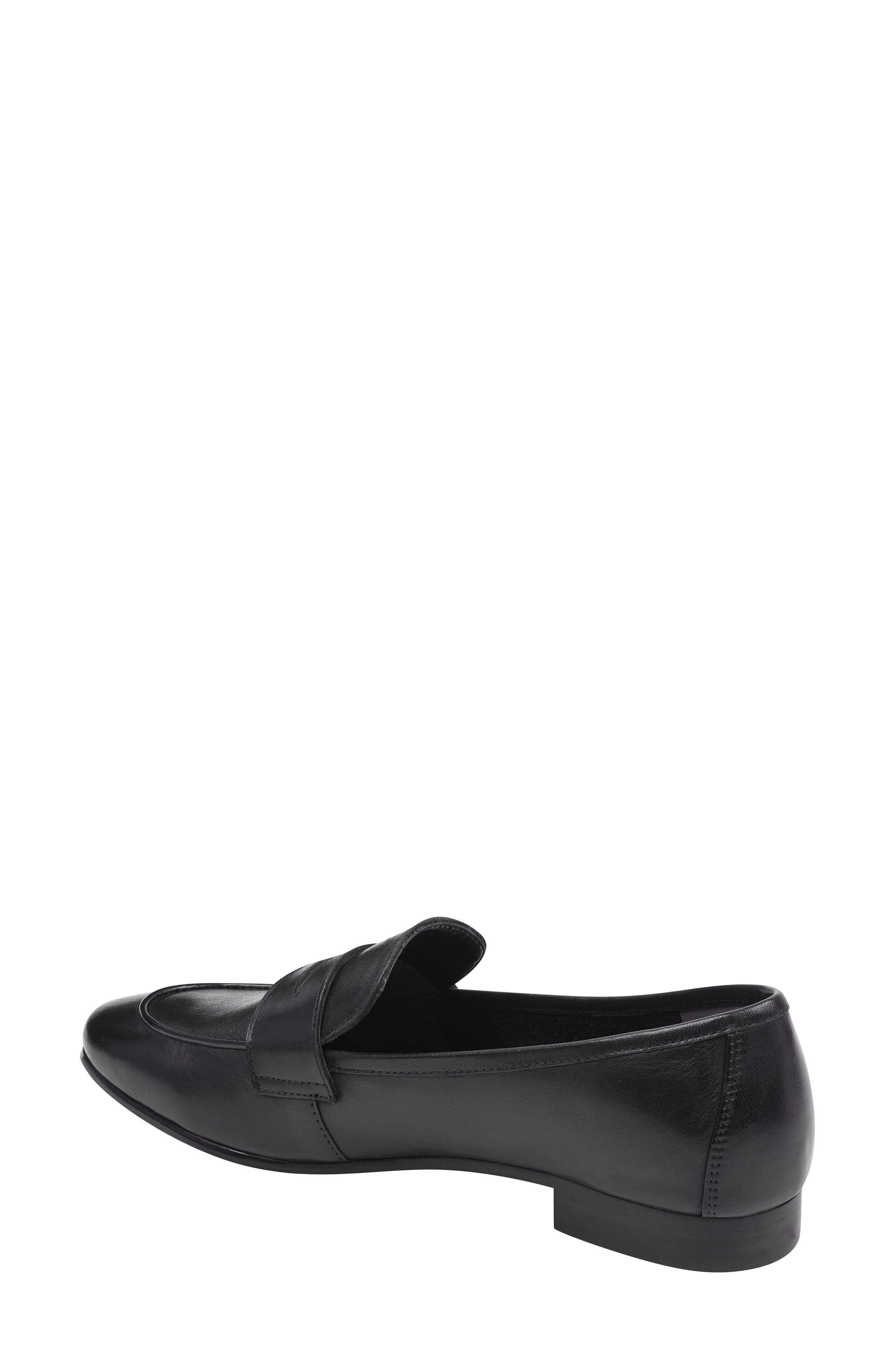 ,                             Chang Penny Loafer,                             Alternate thumbnail 2, color,                             BLACK LEATHER