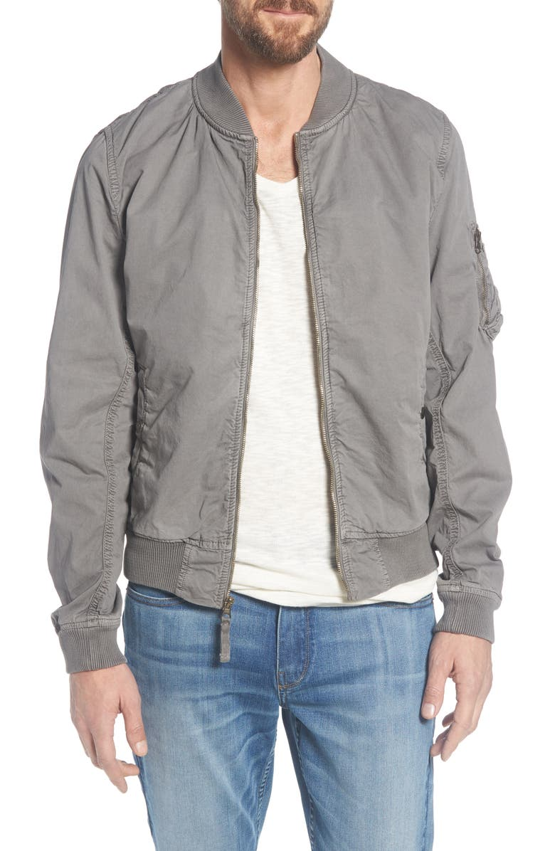 SCHOTT NYC MA-1 Cotton Bomber Jacket, Main, color, 023