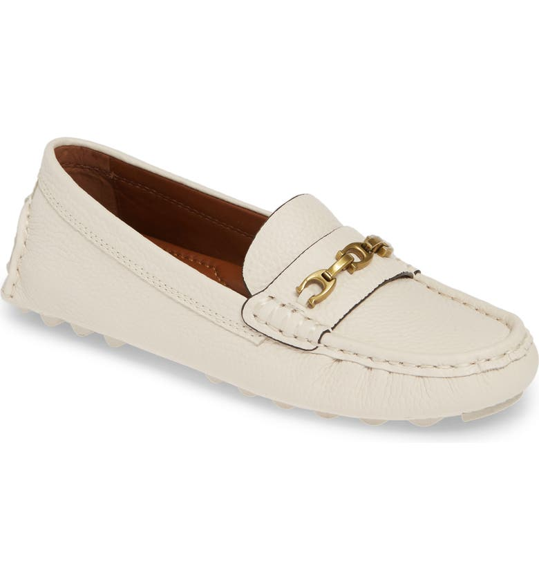 COACH Crosby Driver Loafer, Main, color, 115