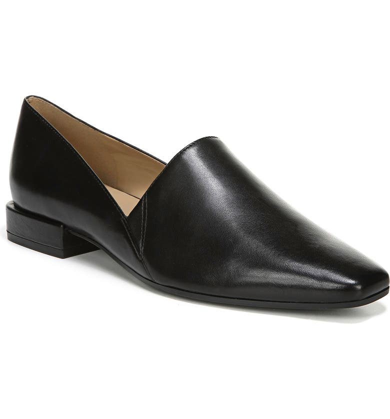 NATURALIZER Collette Loafer, Main, color, BLACK LEATHER