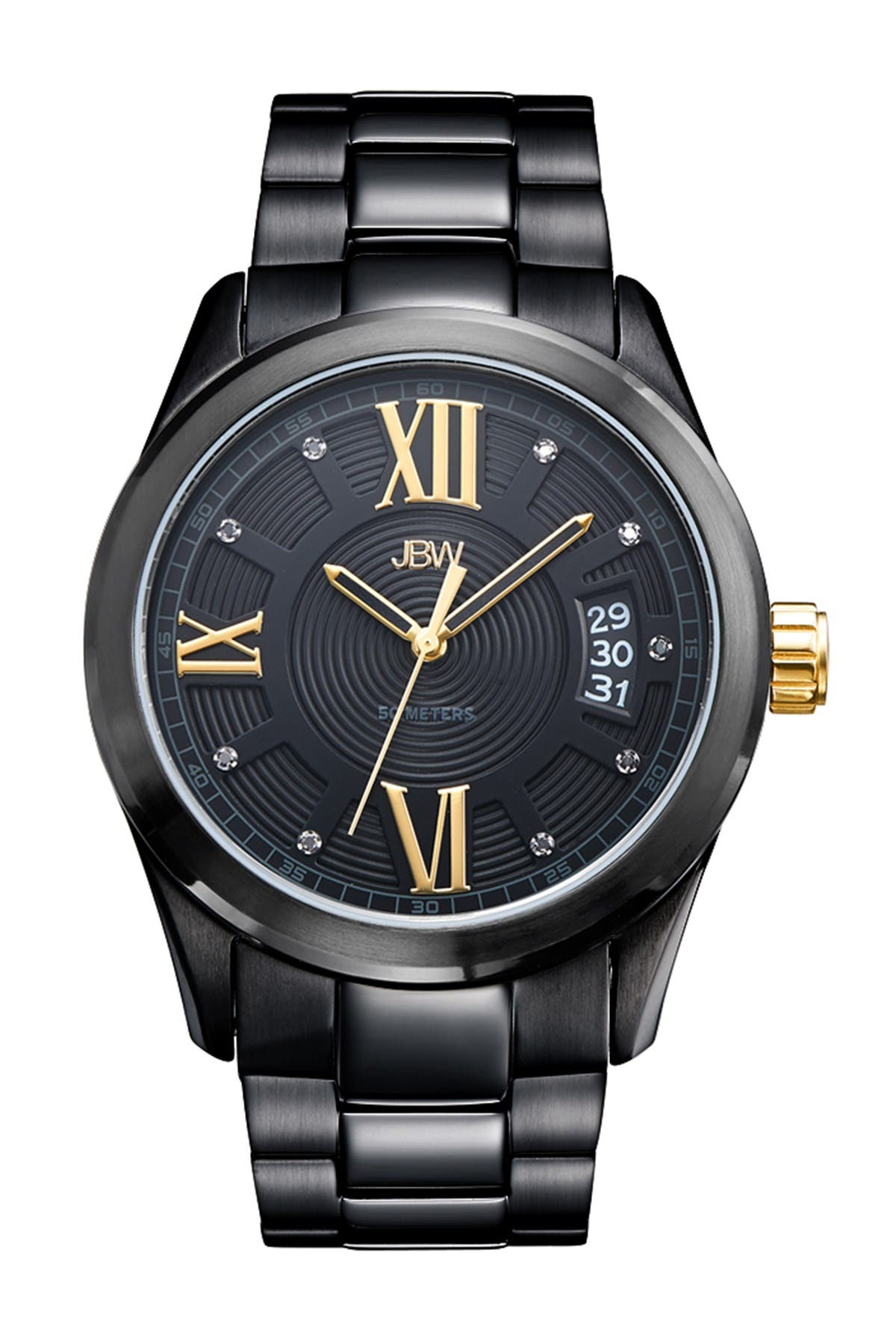 Image of JBW Men's Titus Diamond Watch, 44mm - 0.09 ctw