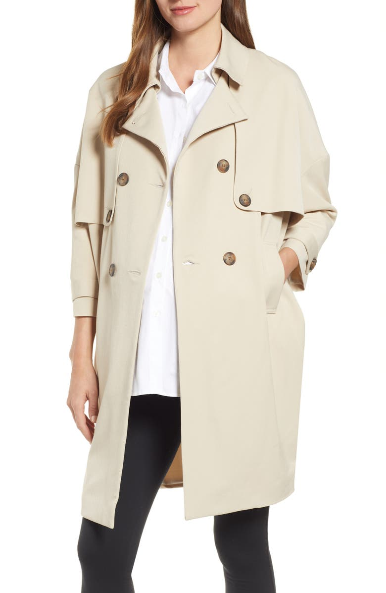 HATCH Trench Coat, Main, color, KHAKI