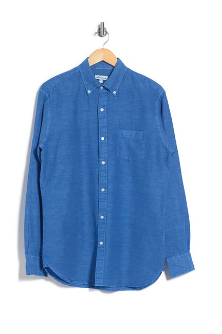 Image of Peter Millar Seaside Washed Dress Shirt