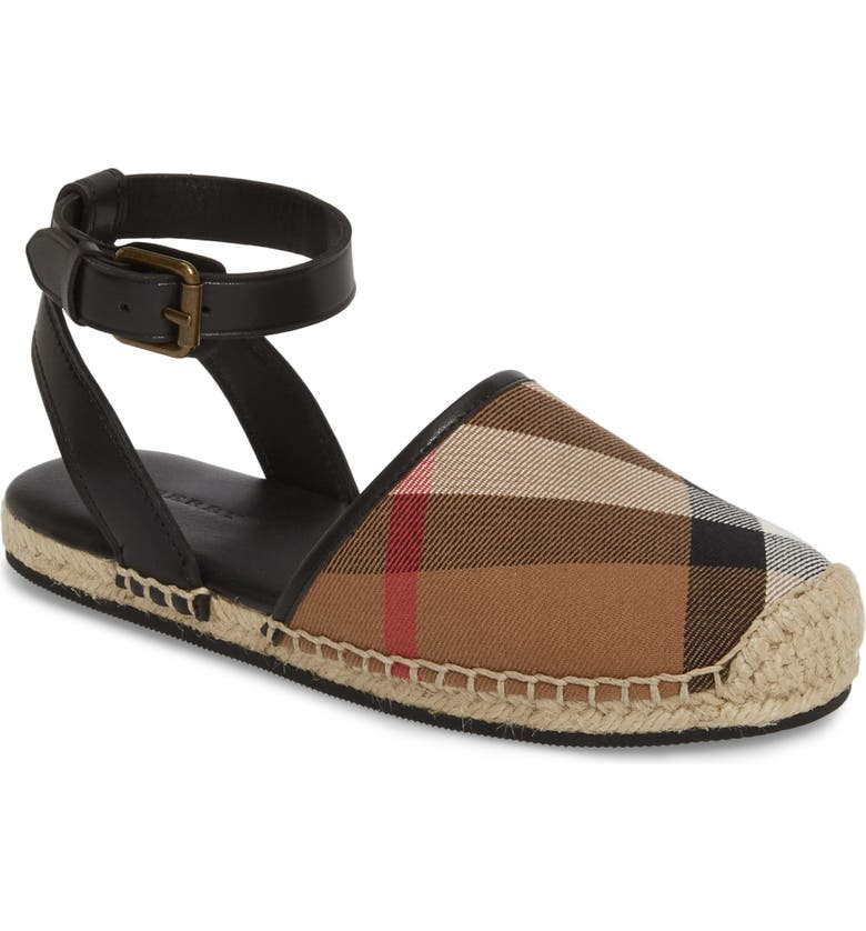Perth Ankle Strap Sandal by Burberry