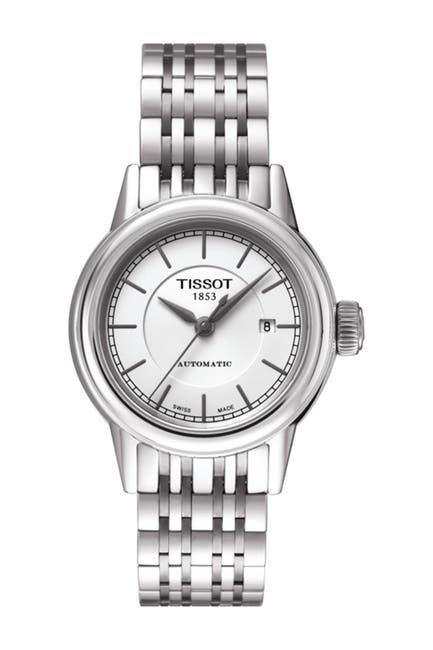 Image of Tissot Women's Carson Automatic Bracelet Watch, 28.5mm