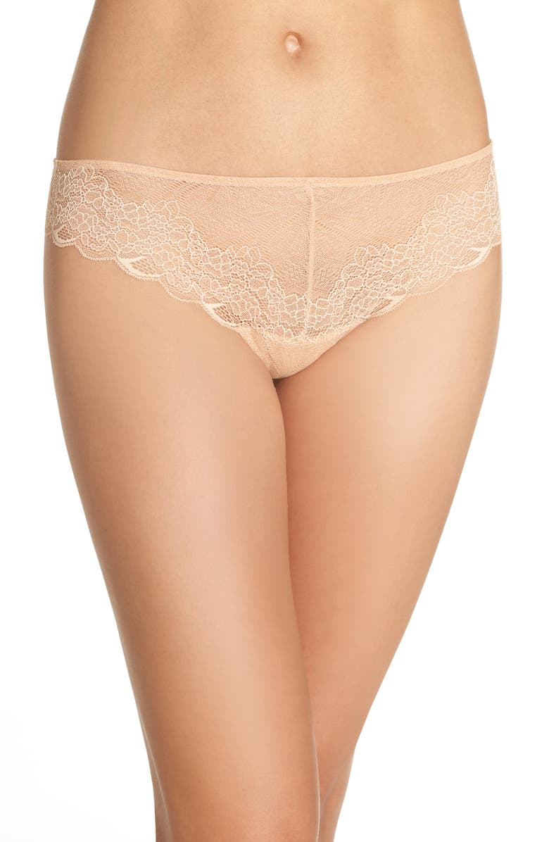 MADEWELL Lace Tanga, Main, color, VOILE PINK