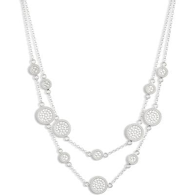 Anna Beck Multi Disc Layered Collar Necklace
