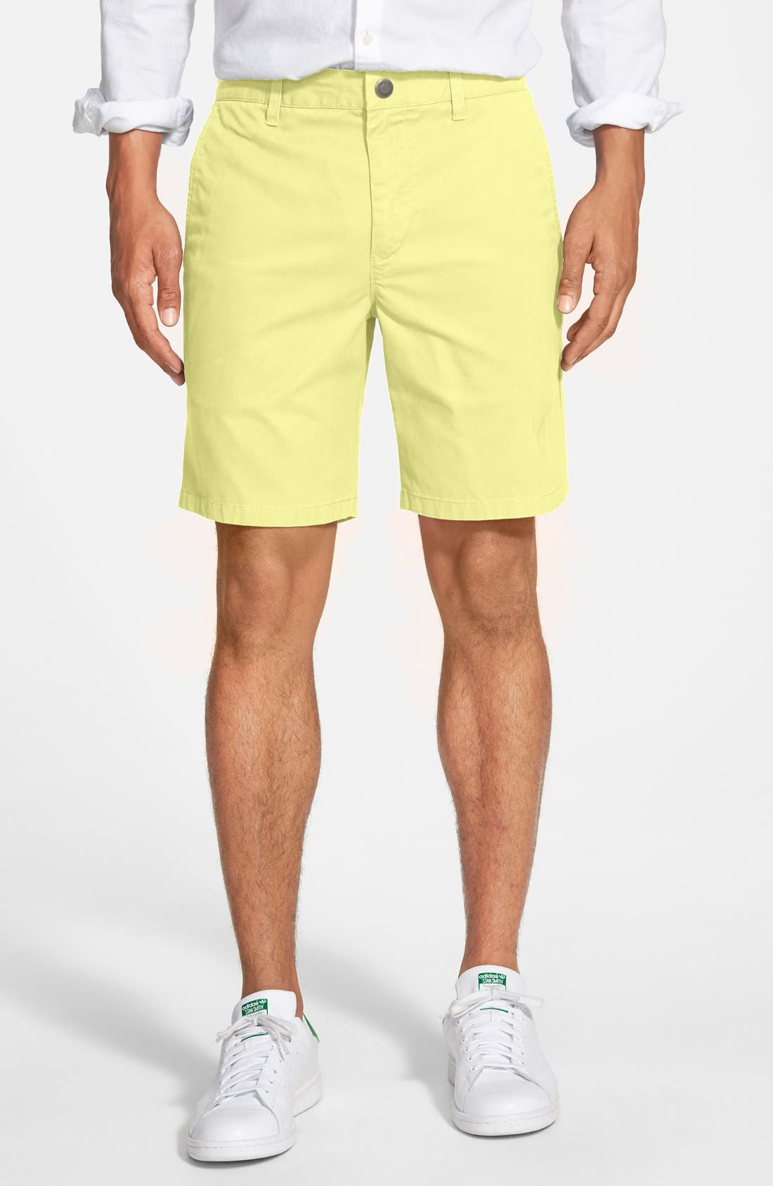 ,                             Washed Chino Shorts,                             Main thumbnail 84, color,                             700