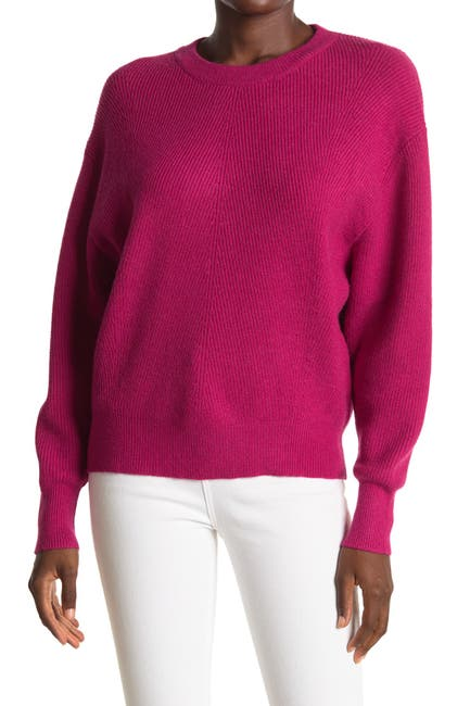 Image of Lush Solid Dolman Pullover Sweater
