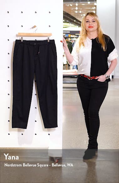 Adjustable Belt Tapered Pants, sales video thumbnail