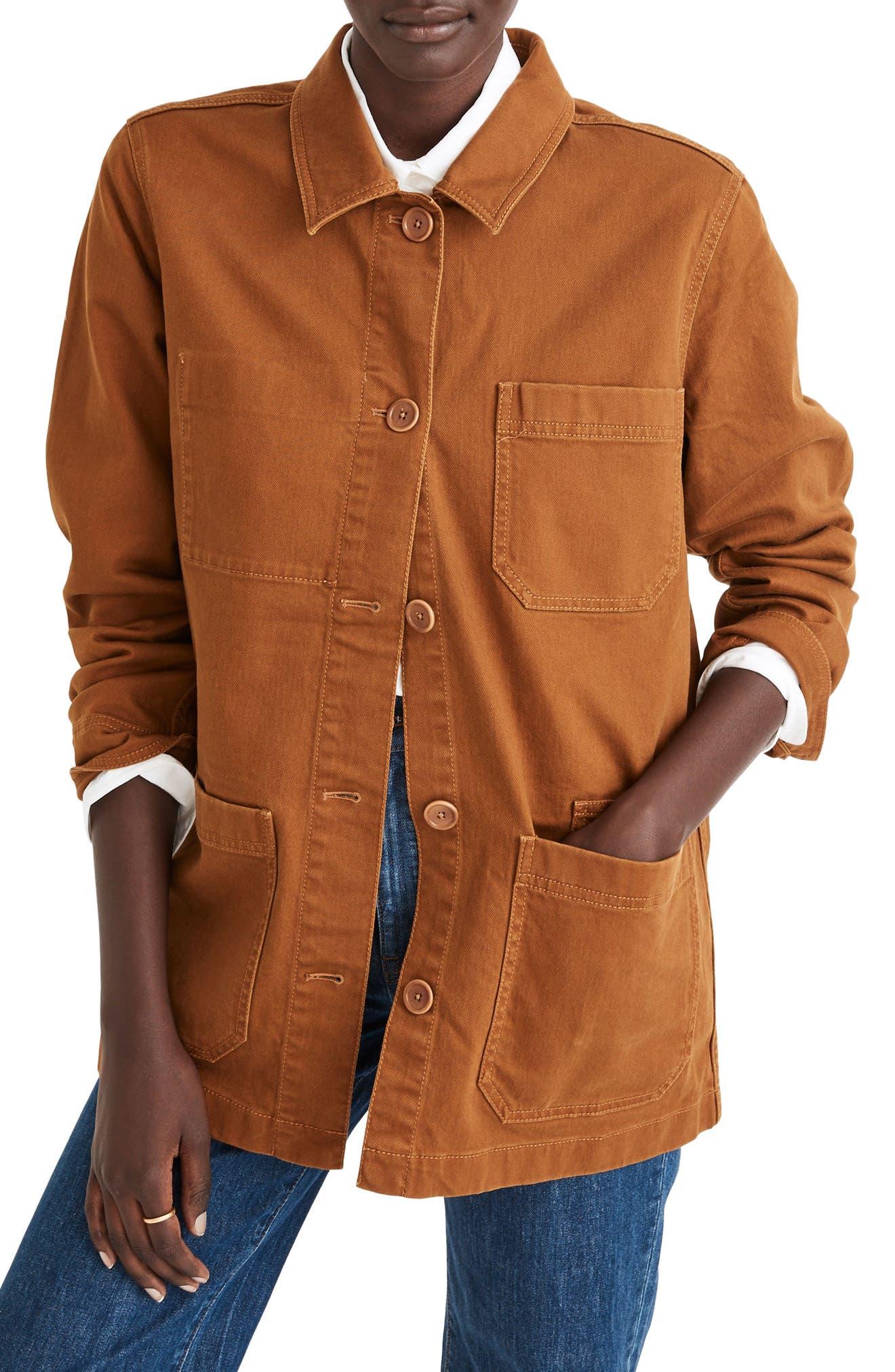 Madewell Hollyhurst Oversize Chore Jacket   Nordstrom