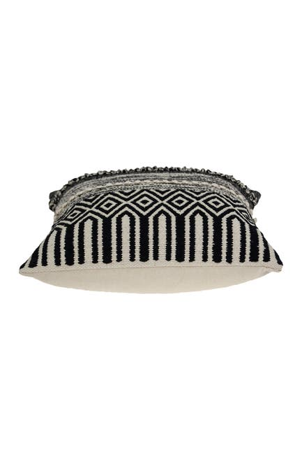 Image of Parkland Collection Chase Bohemian Black Throw Pillow