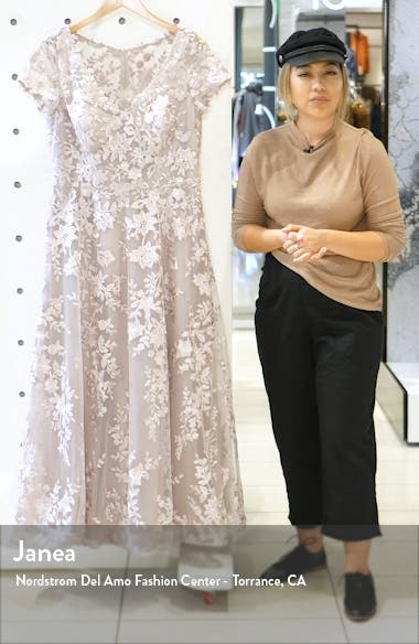 Embroidered Lace Gown, sales video thumbnail