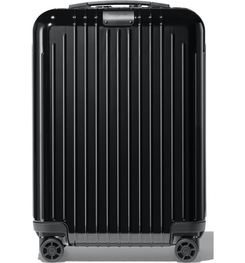 RIMOWA Essential Lite Cabin 22-Inch Wheeled Carry-On, Main, color, BLACK