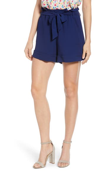 abc7dc67 Gibson x Living in Yellow Ivy Paperbag Tie Waist Shorts (Regular & Petite)  (Nordstrom Exclusive) | Nordstrom