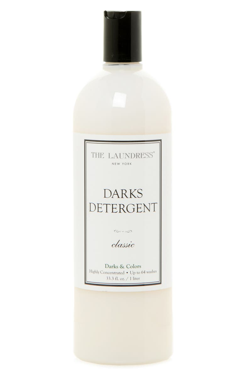 THE LAUNDRESS Classic Darks Detergent, Main, color, WHITE