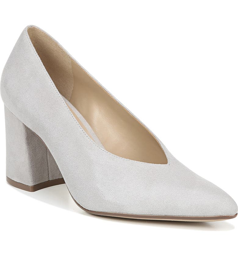 NATURALIZER Hope Pointy Toe Pump, Main, color, ICY GREY SUEDE