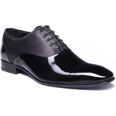 Jared Lang Stefano Plain Toe Oxford, Black